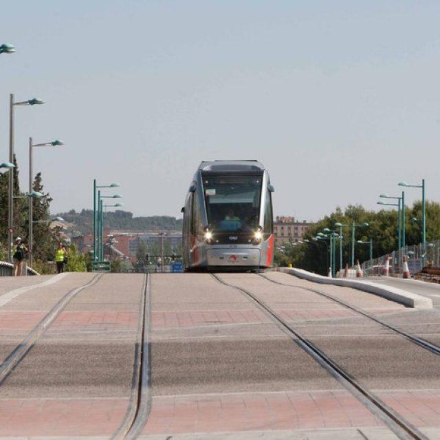 Zaragoza permitirá al taxi circular por los raíles del tranvía